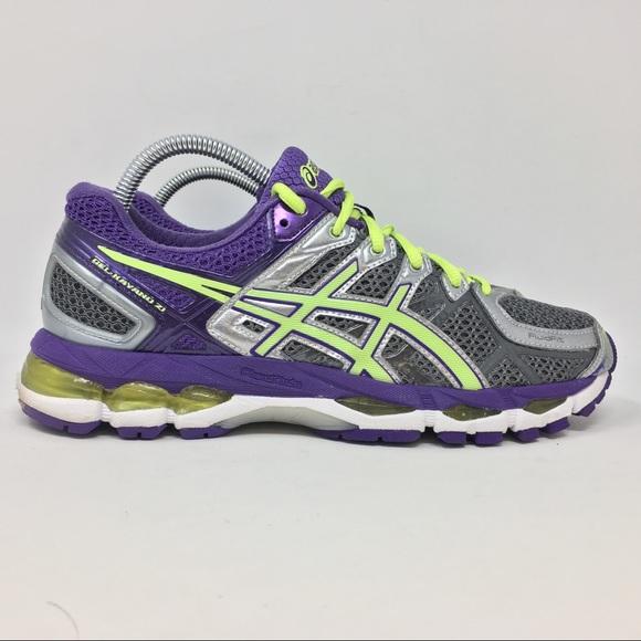 Asics Gel Kayano 21 Running Shoes Womens 9.5 G3